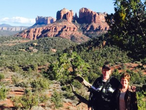 Cathedral Rock in Sedona (click to enlarge then hit back arrow to return).