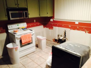 Gutted kitchen (click to enlarge then hit back arrow to go back).